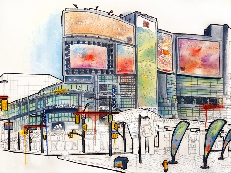 Yonge and Dundas Square North East Side 1280