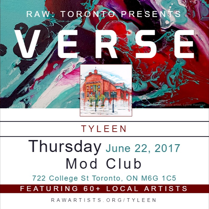 Tyleen-RAW TORONTO PRESENTS VERSE