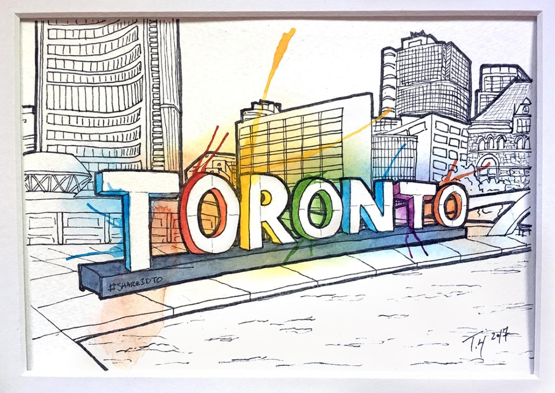 Small Toronto Sign